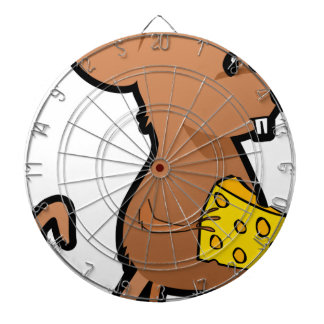Mouse with Cheese Dartboard