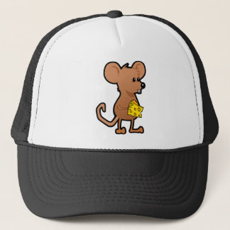 Mouse with Cheese Trucker Hat