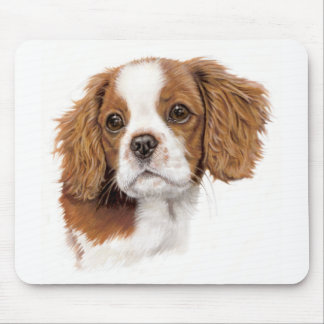 Mousemat : Cavalier king charles spaniel Mouse Pad