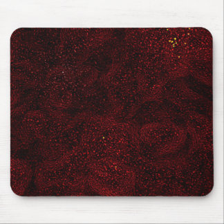 Mousemat / Mouse Pad - Red Abstract