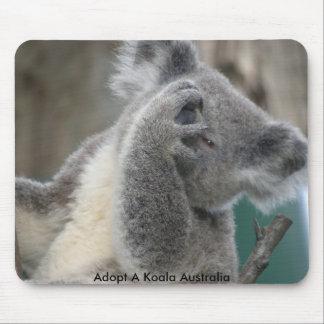 Mousepad Adopt A Koala Australia Paw Mouse Pads