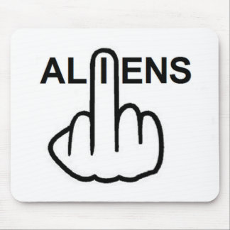Mousepad Aliens Flip
