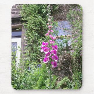 Mousepad anglais de jardin de cottage tapis de souris