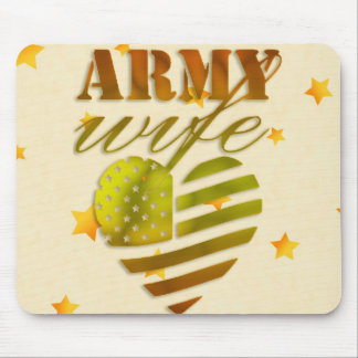 """Mousepad """"ARMY Wife """""""