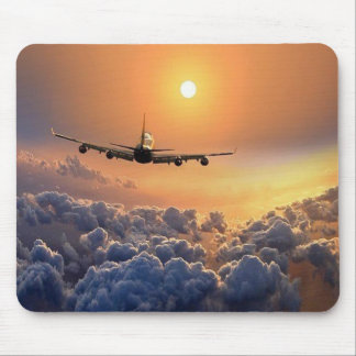 MousePad - Aviation with put-pity-sun