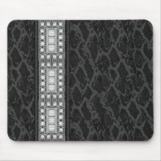 Mousepad Black Leather Diamonds (047-051)