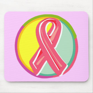 Mousepad - Breast Cancer Ribbon