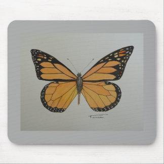 Mousepad butterfly monarch
