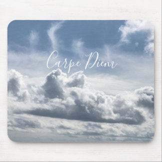 Mousepad Carpe Diem, beautiful photo of the clouds