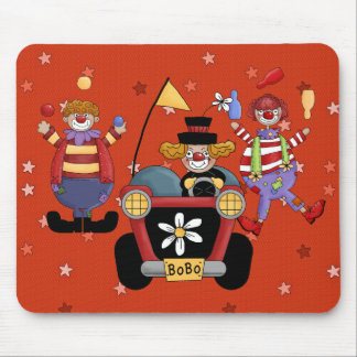 Mousepad Circus Clown
