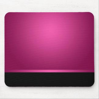 Mousepad Dark Hot Pink & Black Mousemat