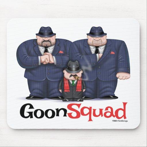 Mousepad de peloton de crétin de Mafia Tapis De Souris