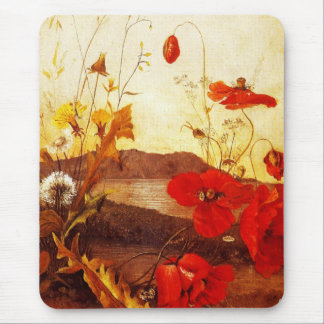 Mousepad Famous Artists 'Poppies' oil on canvas