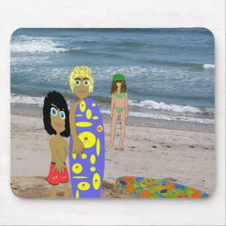 """Mousepad """"Going Surfing Dude"""""""