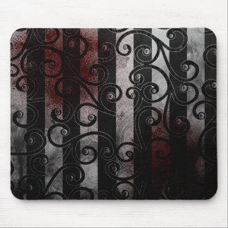 mousepad gothique de globe oculaire tapis de souris