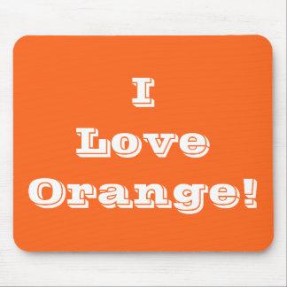 Mousepad I Love Orange