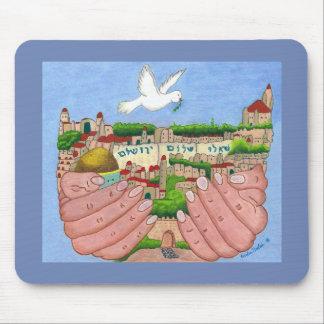 Mousepad Jerusalem