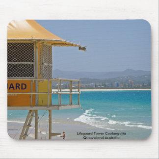 Mousepad Lifeguard Tower Coolangatta Qld Australia Mouse Pad