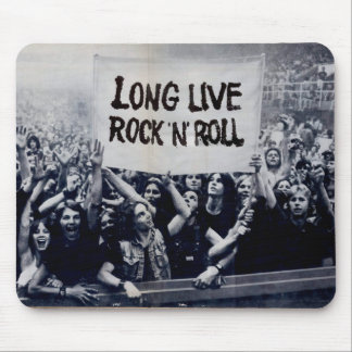 "Mousepad ""Long Live Rock N' Roll """