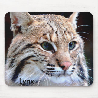 Mousepad, Lynx Up Close Mouse Pad