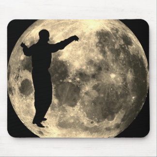 Mousepad MAN DANCING ON THE MOON