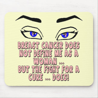 Mousepad - My Breast Cancer Fight