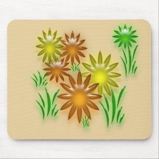Mousepad - Neon Daisies