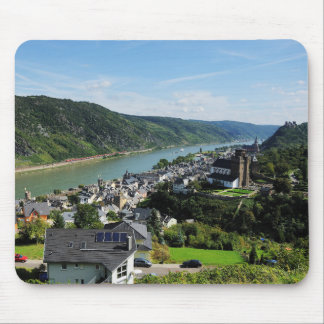 Mousepad Oberwesel in the central Rhine Valley