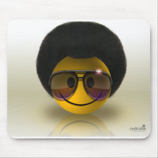 Mousepad of the Smile Afro