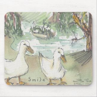 """Mousepad """"Paris/Parc Sketch Watercolor"""""""