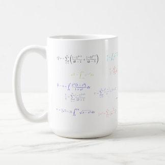 Mousepad - pi formulation coffee mug