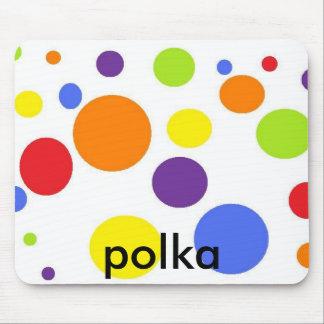 mousepad polka dot