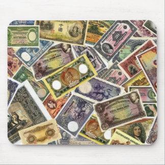 MOUSEPAD - RARE BANKNOTES