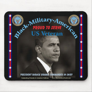 Mousepad, Retired Military Mouse Pad