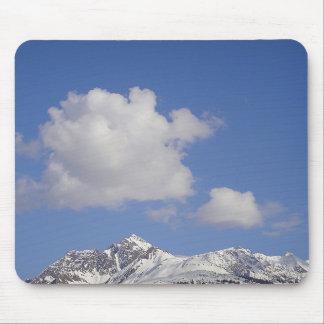 Mousepad Schneeberg mit lustiger Wolke