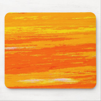 Mousepad - Streaky Light and Dark Orange.
