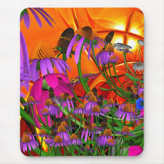 Mousepad Sunshine Flowers