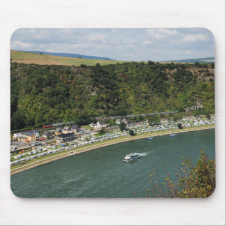 Mousepad to the Loreley in the central Rhine