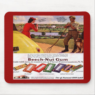 Mousepad-Vintage Gum Advertisement