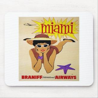 Mousepad-Vintage Miami Advertisement