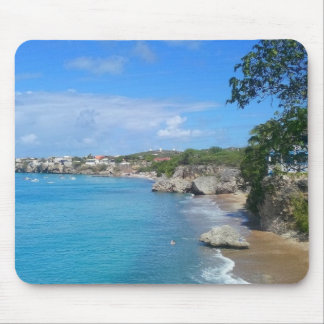 Mousepad with Beach View Westpoint Curacao