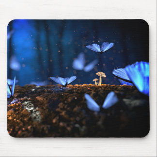 Mousepad with butterfly