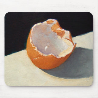 MOUSEPAD WITH EGG SHELL REALISM ART