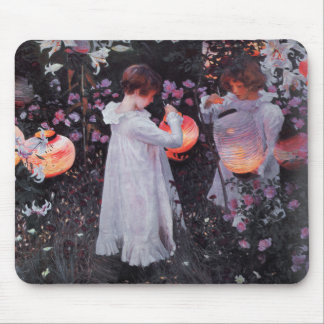 Mousepad With John Singer Sargent Painting