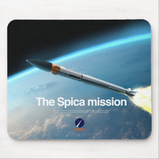 Mousepad with the Spica Mission