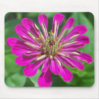 mousepad with zinnia