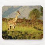 Mousepads de faune de girafe de bébé tapis de souris
