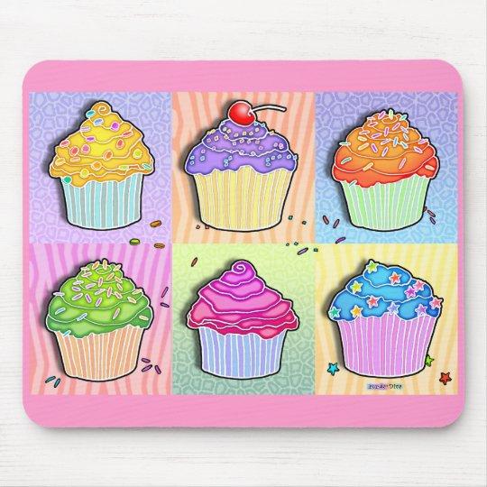 Mousepads - Pop Art Cupcakes