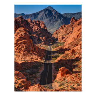 Mouses Tank Road - Valley Of Fire - Nevada Letterhead