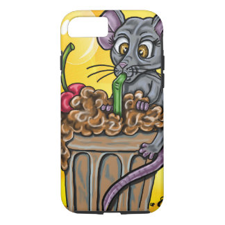 Mousey Brain Freeze iPhone 7 Case